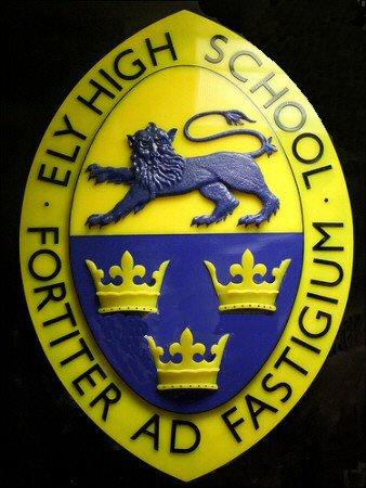 Ely High School Badge